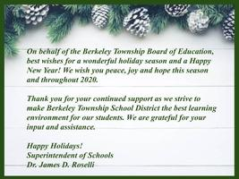 Holiday Message