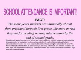 January Attendance Message